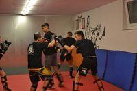 Sparrings Training MMA